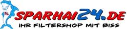 Sparhai24.de - Ihr Filtershop mit Biss-Logo