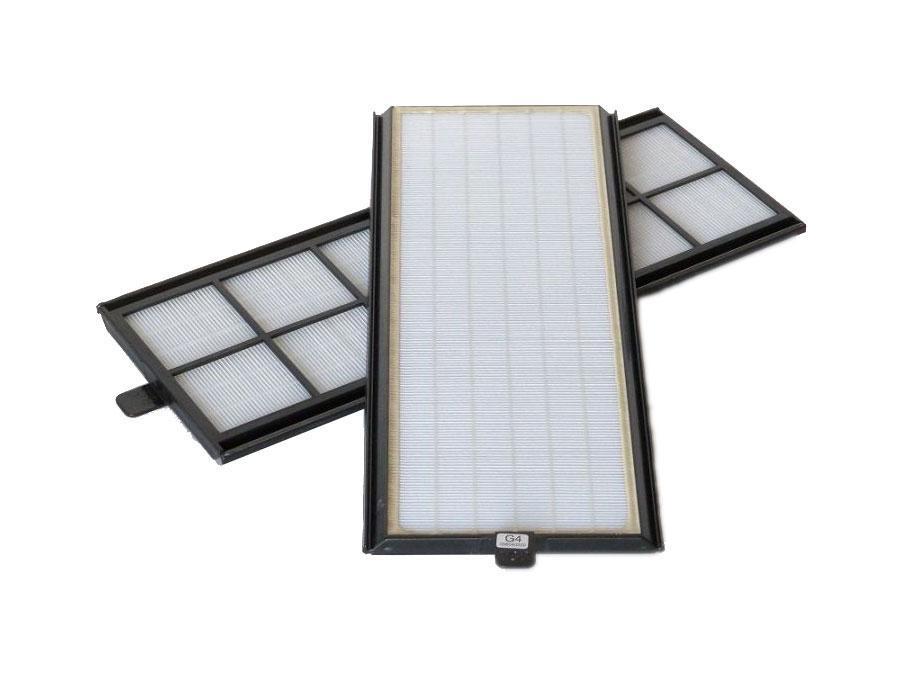 2x G4 Filter für Vaillant recoVAIR VAR 275 350 in Kunststoffrahmen